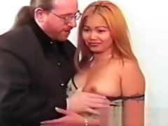 Retro asian amateur cocksucking