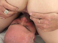 Amateur senior porn at home with tight Masha Ray