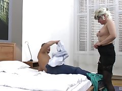 handsome guy destroys wet and shaved Botos Zoltane's pussy on the edging