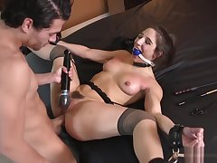 Abella Danger - Teen Sexual connection Toy Used & Pussy Pounded