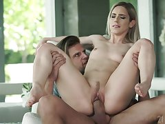 Skinny blonde doll sure loves it deep with the addition of in such merciless XXX