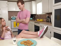 Trample depart ever protein diet for discouraging stepsister Lily Larimar