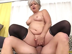 Golden Slut - Gung-ho Older Cowgirls Compilation Part 14