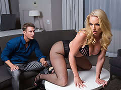 Hot Porn Star Rachael Cavalli is submissive for her nut